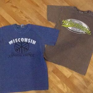 Set of 2 Wisconsin State Fair t-shirts size S